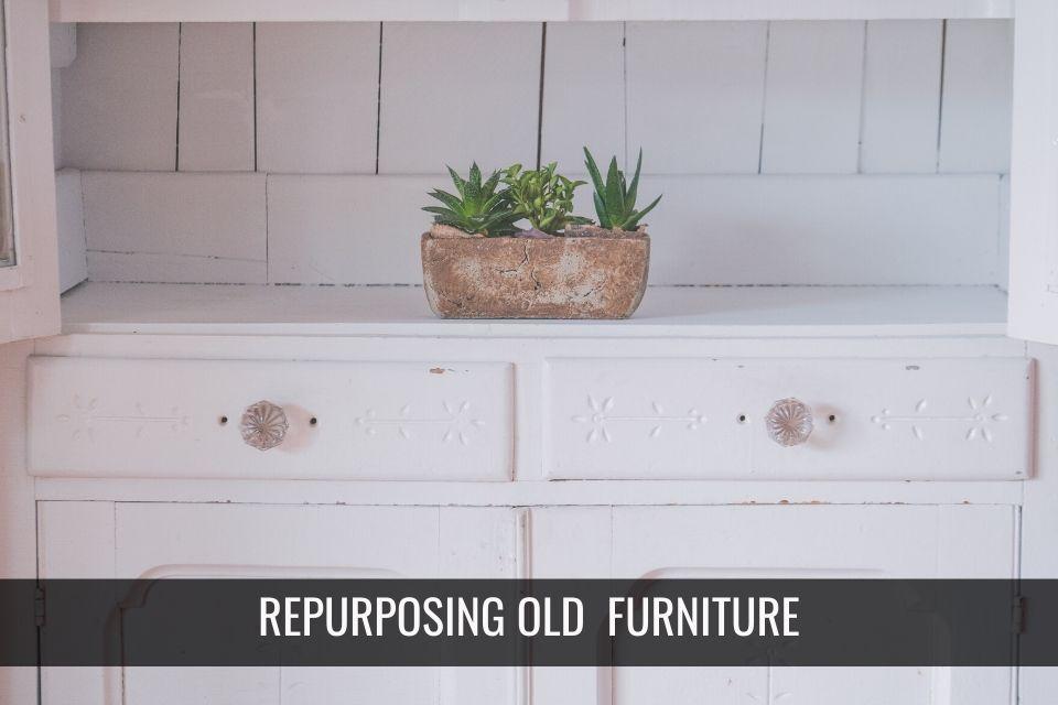 7 Cool Ways to Re-purpose Old Furniture